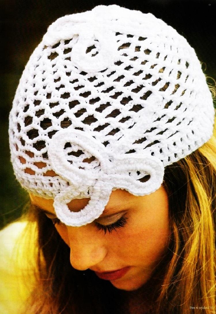 Patrón Crochet Gorro Abba o casquillo