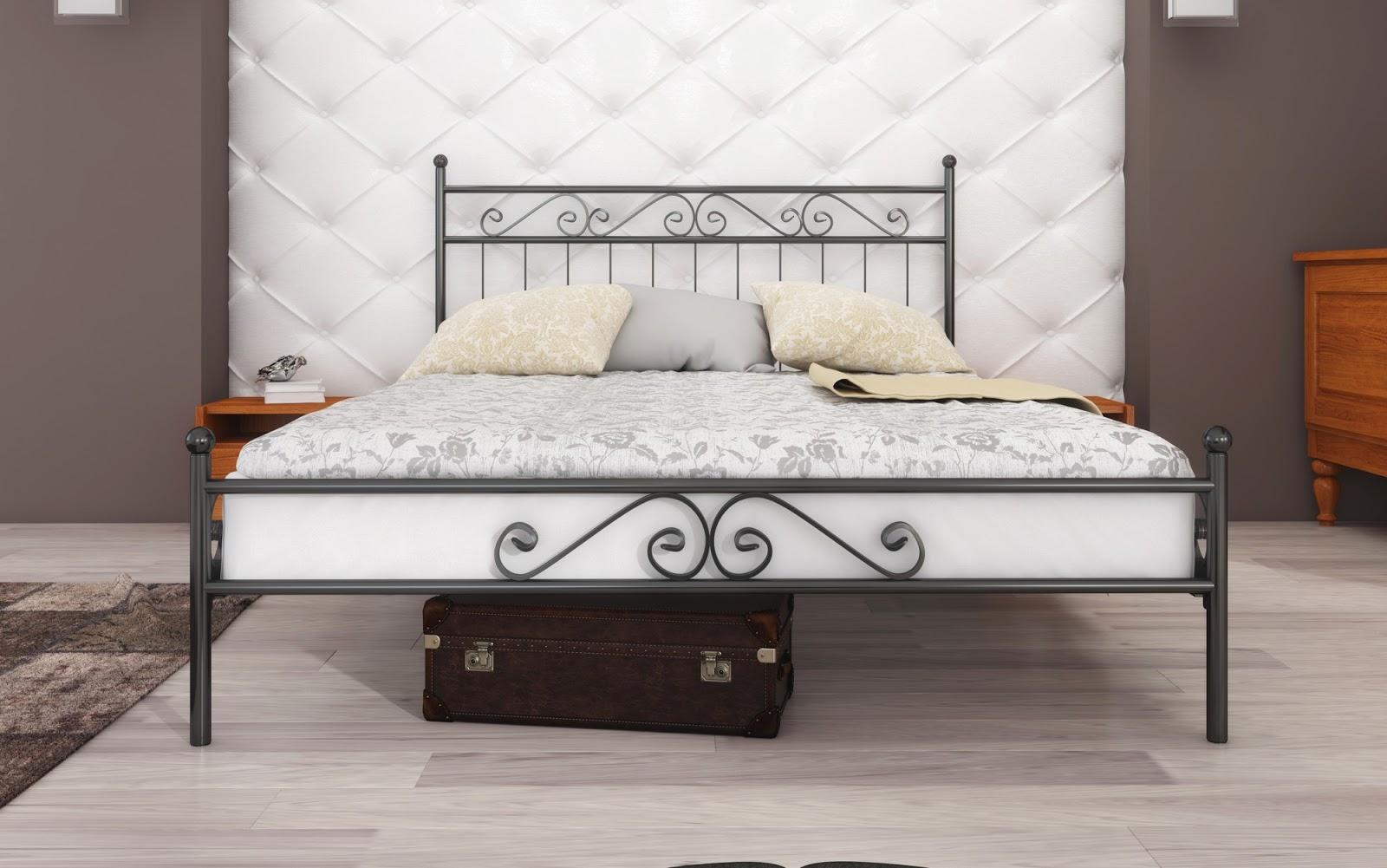 Łóżko podwójne wzór 2J (140-180 cm)