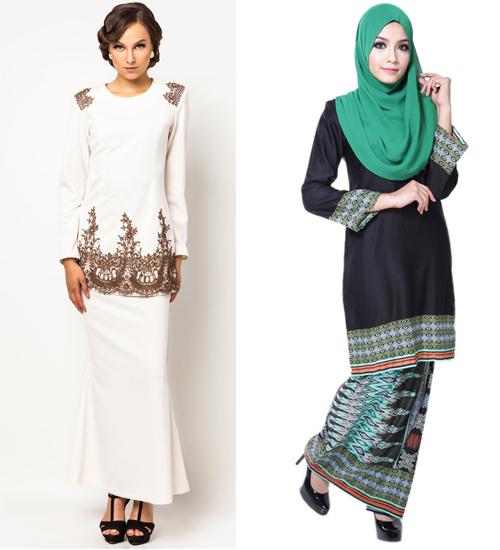 model baju kurung modern