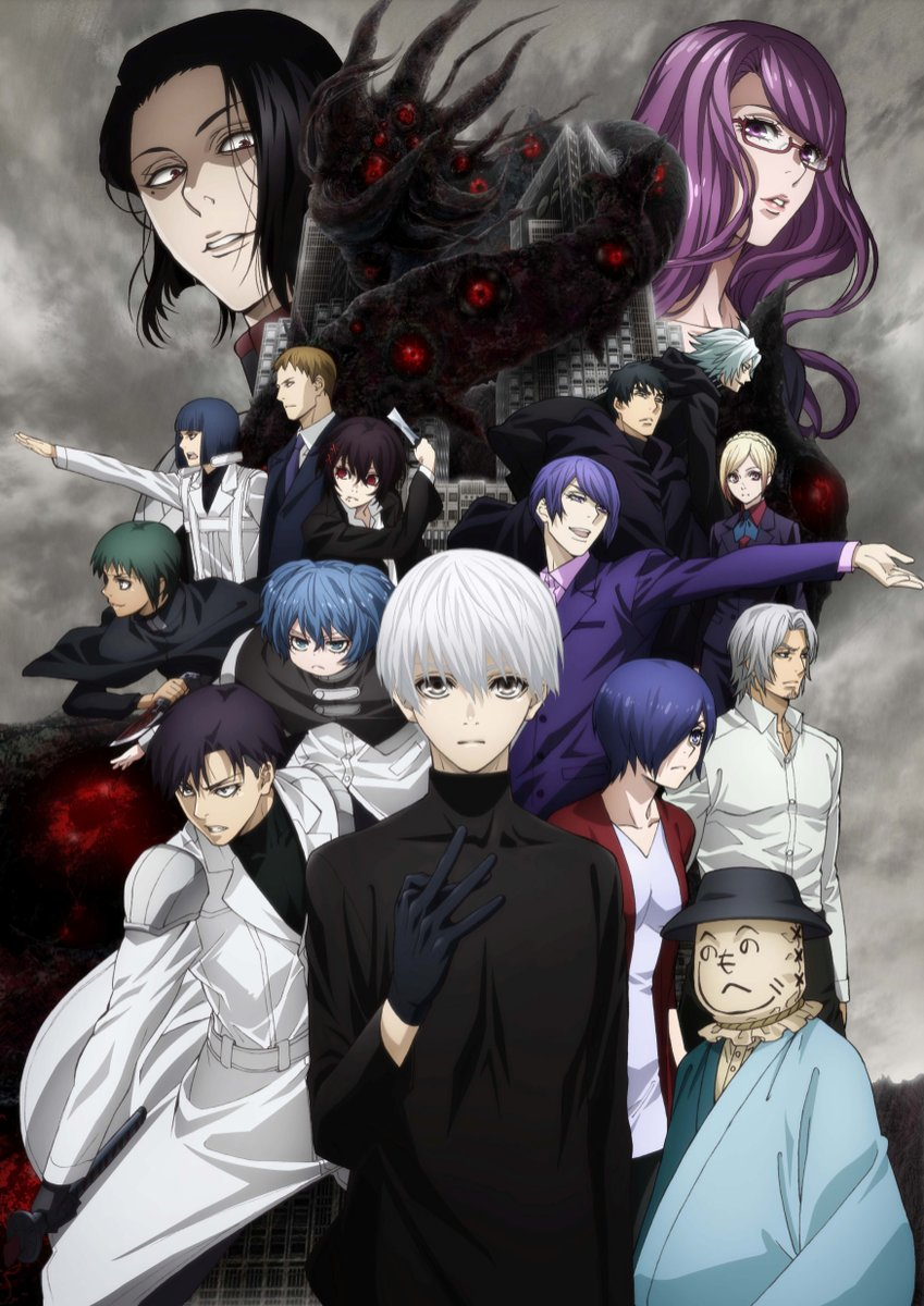 Tokyo Ghoul:re |01/24| |Audio Castellano| Mega|