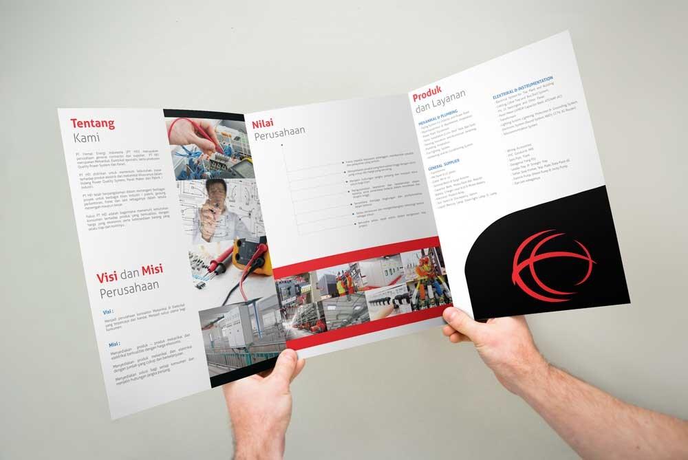 Pesan Design Company Profile Perusahaan Anda Jadi Moderen Oleh