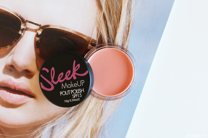 SLEEK MAKEUP // Pout Polish in Bare Minimum - CassandraMyee