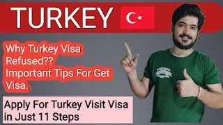 Turkey Visit Visa Requirements & Apply Process || Jobs in Turkey For Foreigners ||