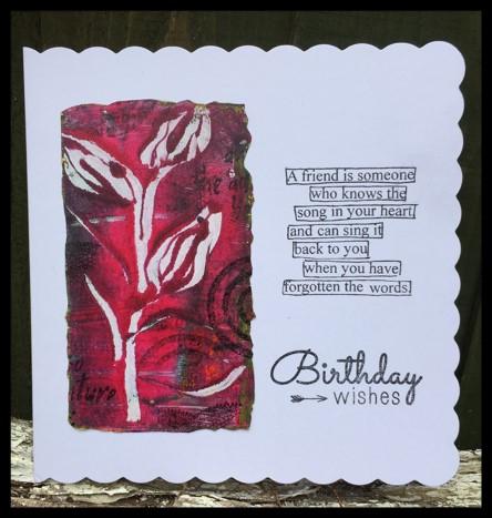 A Birthday Card By Debs Wainwright Thats Crafty