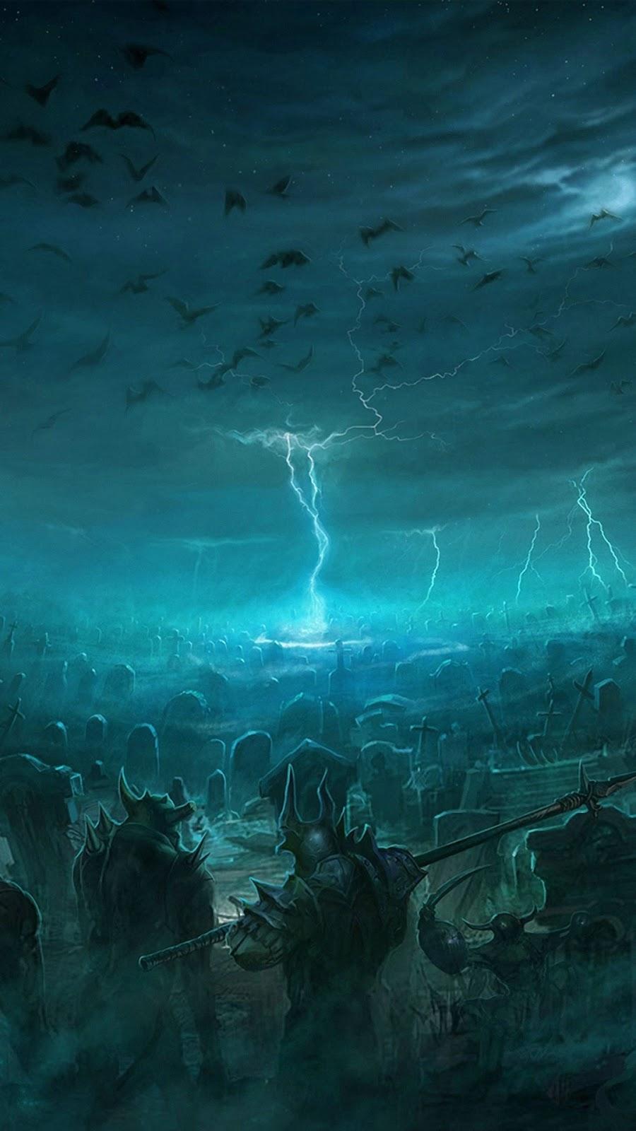 Thunder Background Png