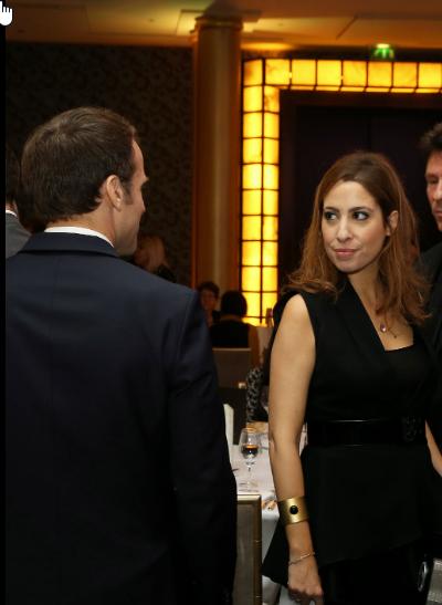 Emmanuel Macron, Léa Salamé