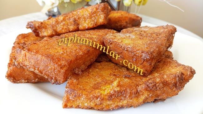 Sütlü Yumurtalı Ekmek Tarifi - viphanimlar.com
