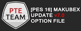 PES 2016 Mackubex Option File v7 (June 2018) Update