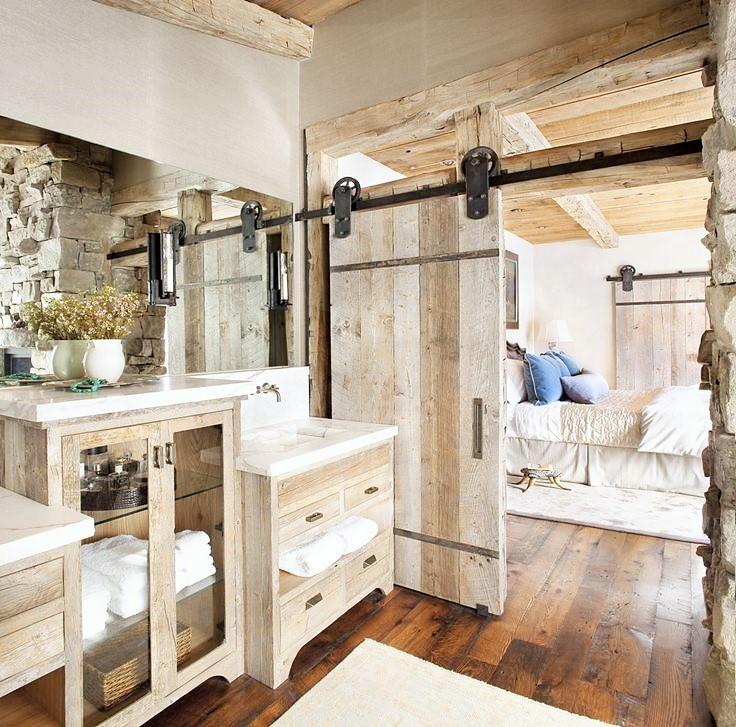 Cool Modern Rustic Style Bathroom Design | Art Home Design Ideas