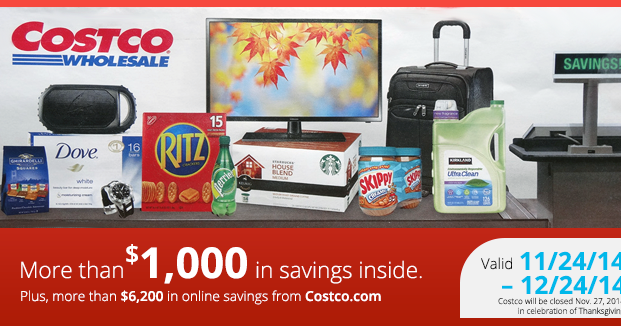 Amy S Daily Dose Costco Coupon Book 11 24 12 24