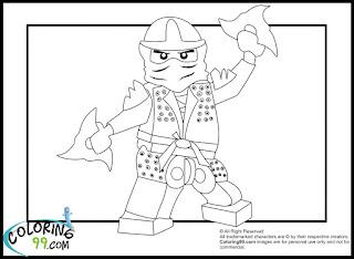 LEGO Ninjago Lloyd The Green Ninja Coloring Pages | Team ...