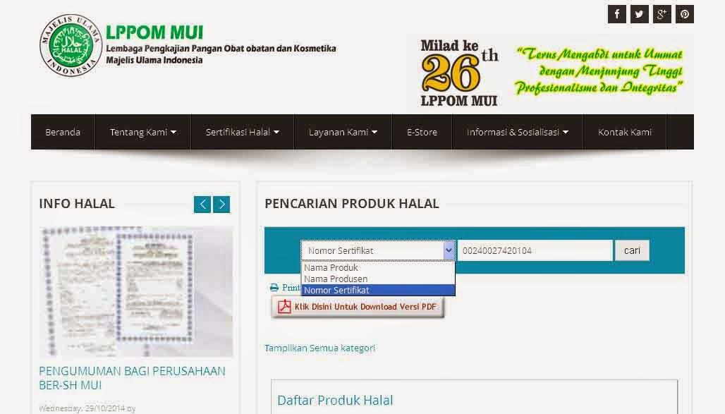 http://www.asalasah.com/2016/03/cara-cek-sertifikat-halal-mui-via.html