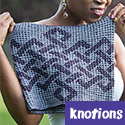 Insular Cowl, from Knotions magazine
