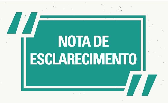 EM NOTA, PREFEITURA DE CHAPADINHA PRESTA ESCLARECIMENTO SOBRE SUPOSTA IRREGULARIDADE EM PREGÃO ELETRÔNICO