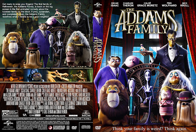 The Addams Family (2019) DVD Cover