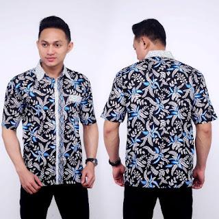 Kemeja Batik Pria No 10