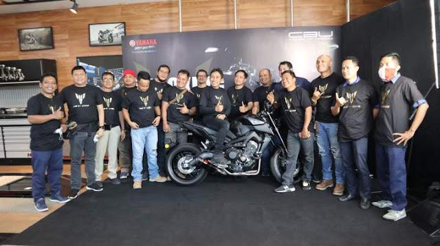 new MT 09 Bali