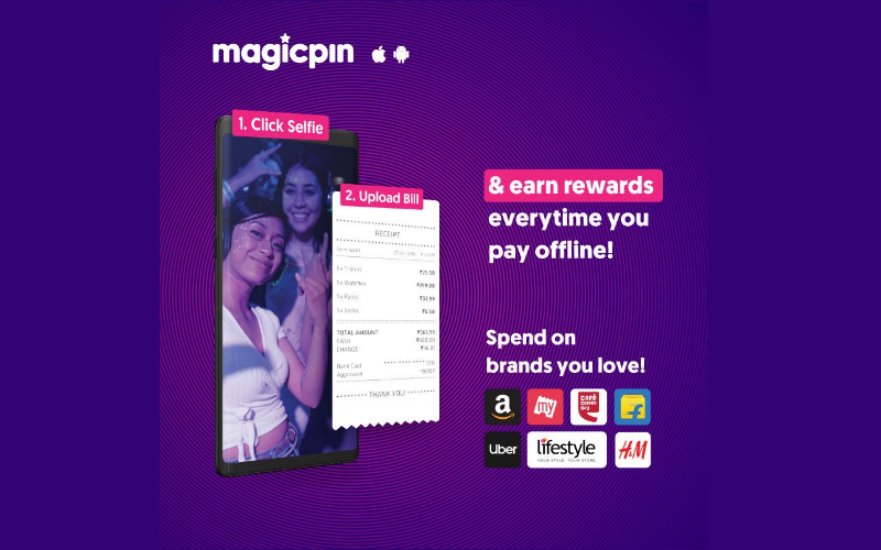 Magicpin Cashback Offer Free Amazon Bookmyshow and Other Branded Vouchers