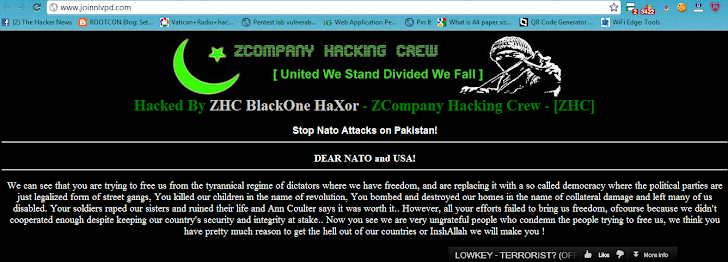 North Las Vegas Police Department hacked by ZHC