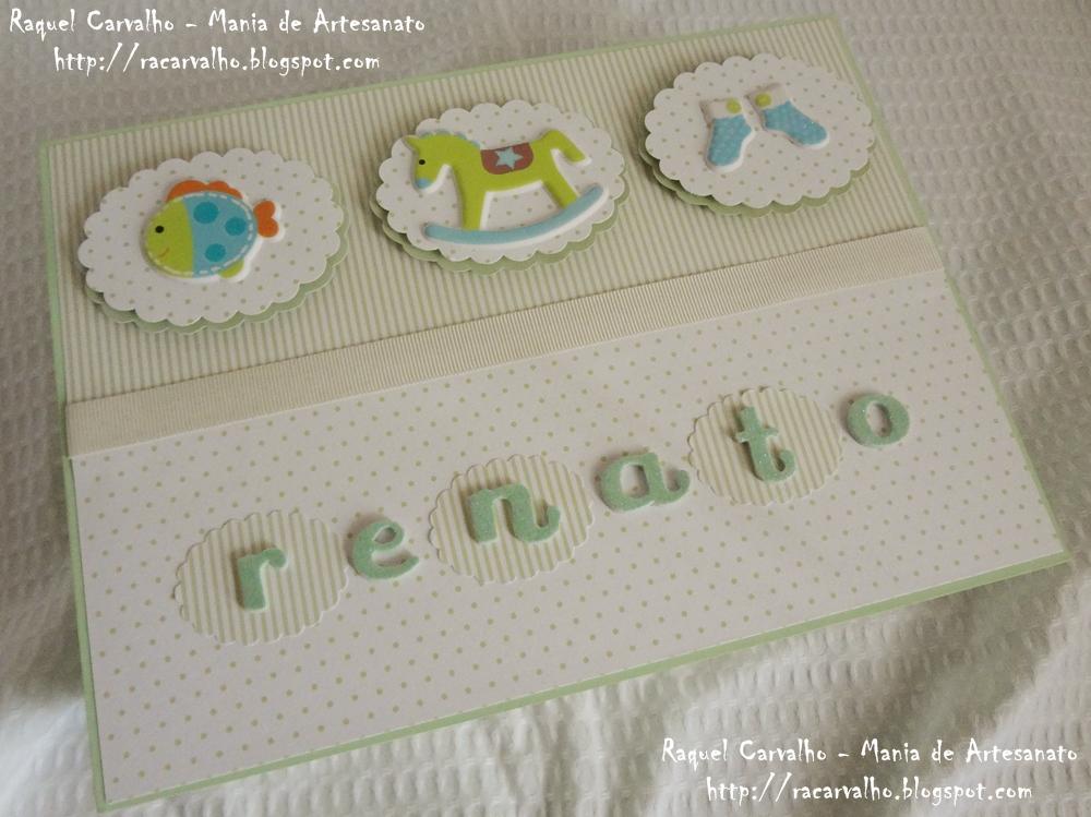 Artesanato Em Mdf Para Bebe ~ Mania de Artesanato Caixa beb u00ea em mdf decorada com scrapbook