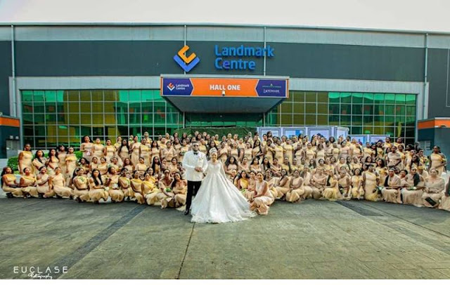 White Wedding Pictures From Sandra Ikeji's Wedding Photo Gallery