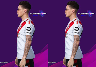 PES 2020 Faces Lucas Martinez by SuperNova