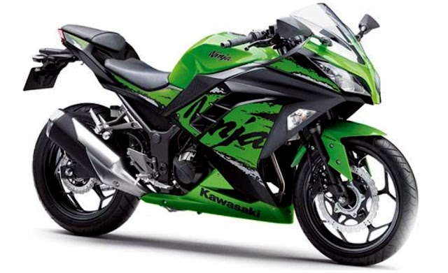 Kawasaki stop production ninja 300 in indis.