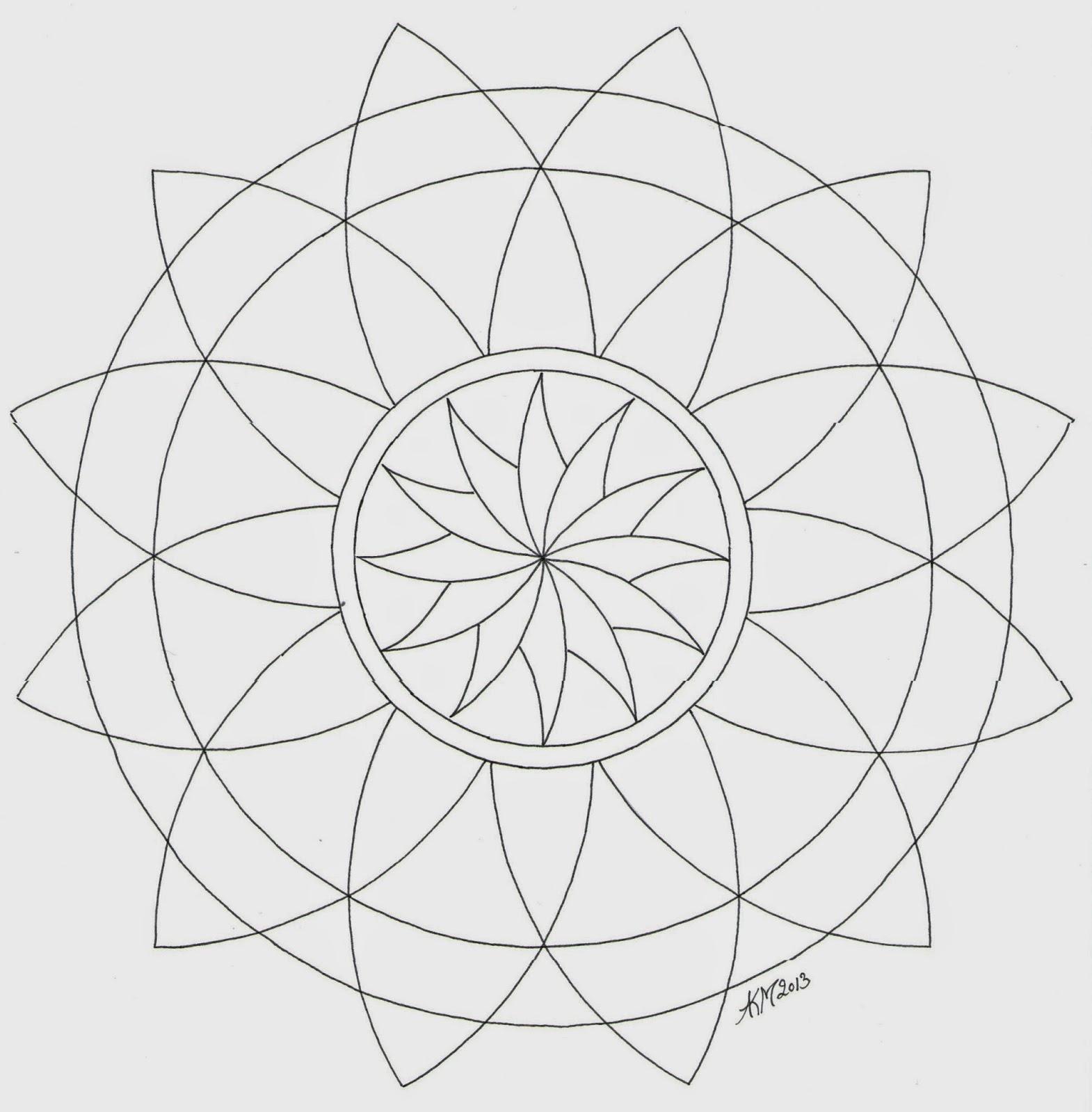 Mandala Kleurplaten Bestellen.Mandala Atelier Mandala Kleurplaten En Templates 2013