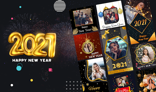 New Year 2021 Frame - New Year Greetings 2021 App for Android user