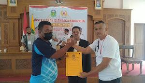 Mansuardi (Man Balok) Resmi Terpilih Sebagai Ketua KONI Kabupaten Tebo Periode 2021-2025