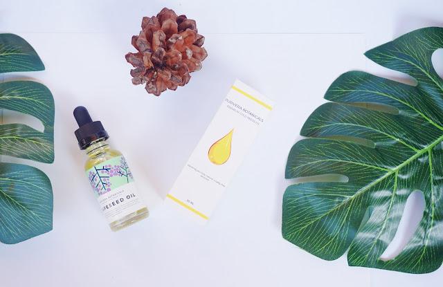 Purivera botanical, grapseed oil, skin care,