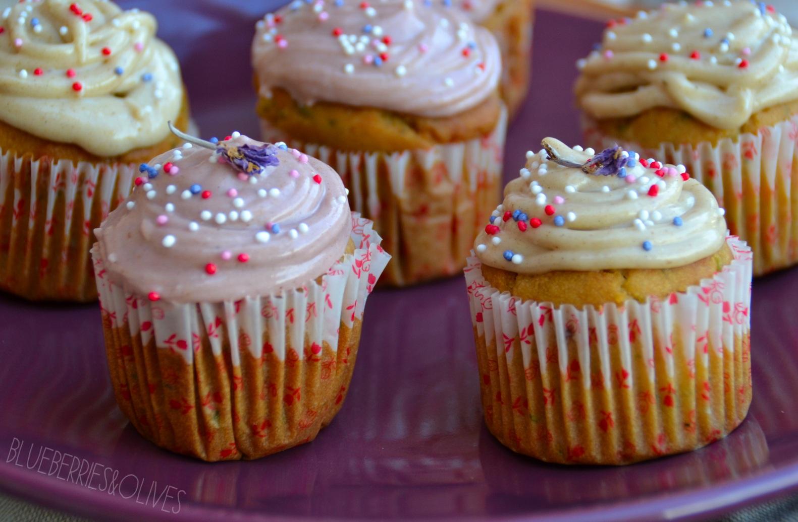 Cupcakes de calabacín, cardamomo y anís 1
