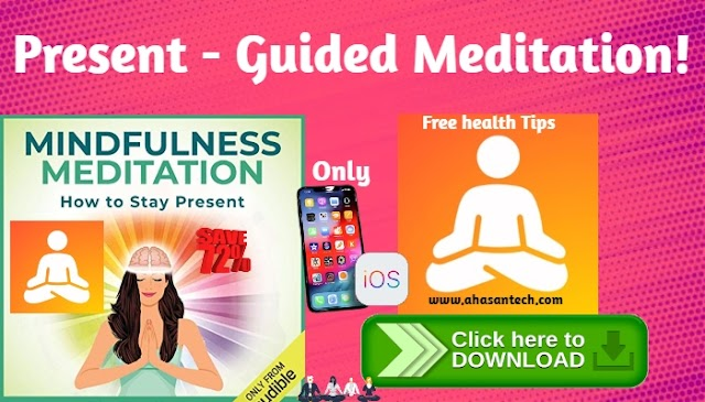 Present - Guided Meditation! I Phone New App (Get Now)