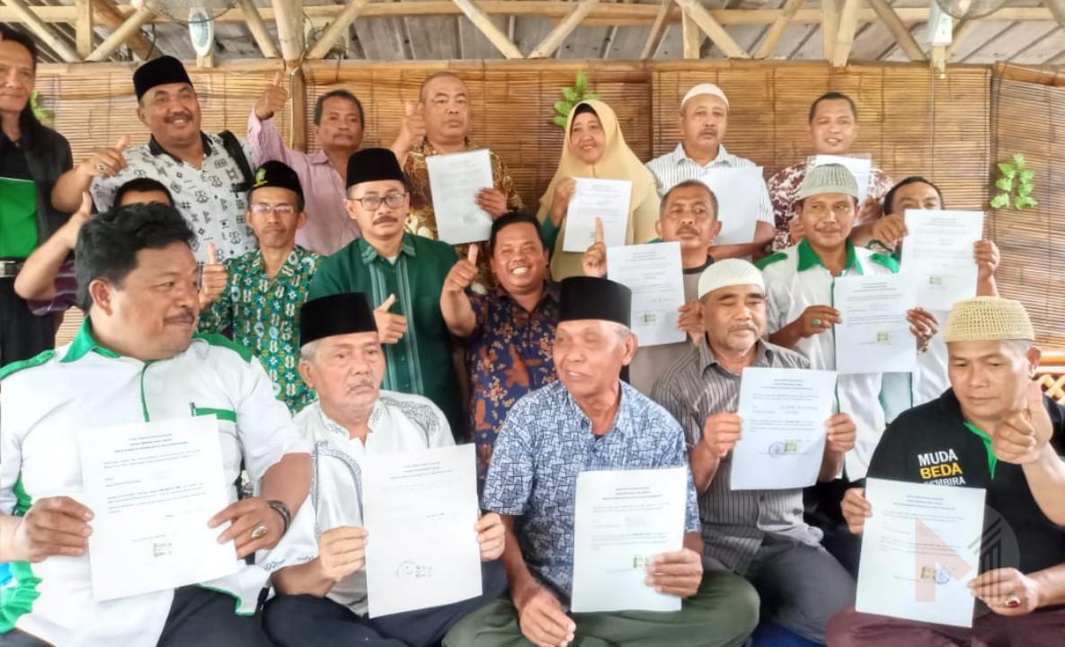 Deklarasi 25 DPAC PKB Se Kabupaten Malang, Dukung Petahana HM Sanusi