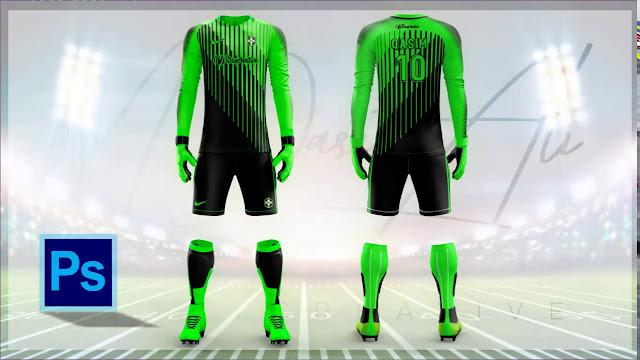 Best Concept Goalkeeper Kit Design in Photoshop cc 2019 by M Qasim Ali
