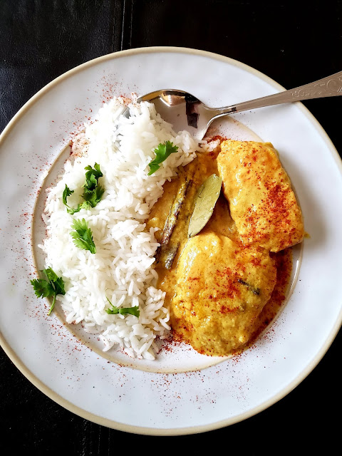 Doi Maach, Bengali Fish in Yogurt sauce