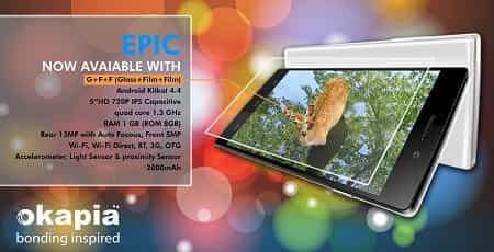 Okapia Epic Smartphone