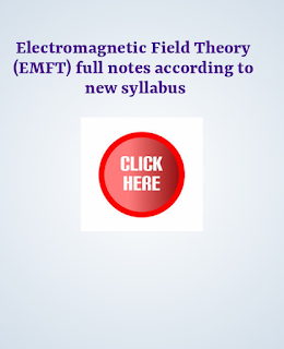Aku EEE 3rd semester  Electromagnetic Field theory (EMFT) free full notes /Electromagnetic Field theory (EMFT) full notes according to new syllabus /Aku EEE 3rd semester   Electromagnetic Field ( EMFT) theory new syllabus