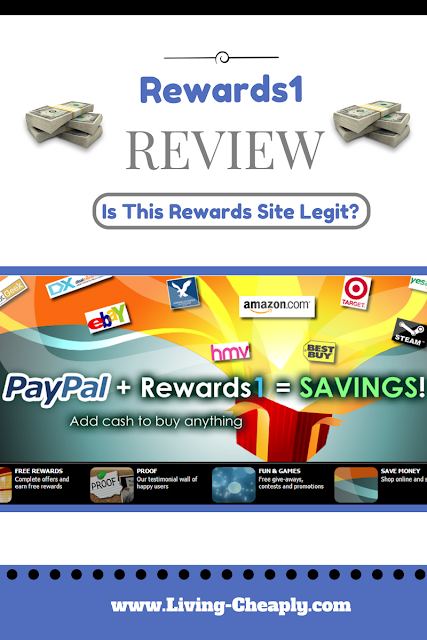 Rewards1 Review - Is This Rewards Site Legit?
