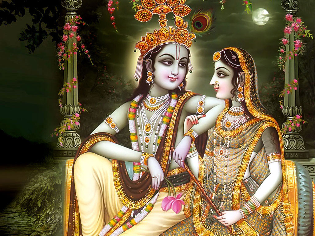 FREE God Wallpaper: Radha Krishna Desktop Wallpaper