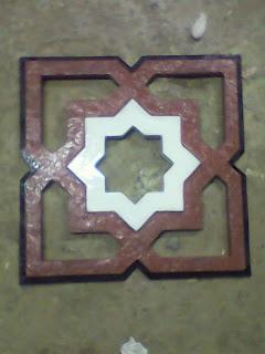 panel ornamen fiberglass