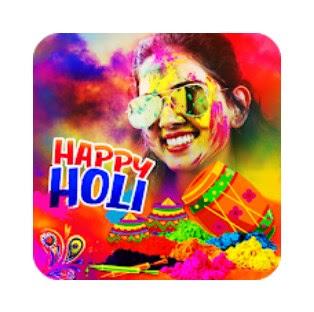 Happy Holi  Photo Fram 2021