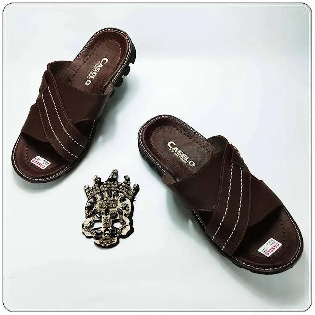Grosirsandalmurah.net -Sandal imitasi Kulit - CS Pria ELF