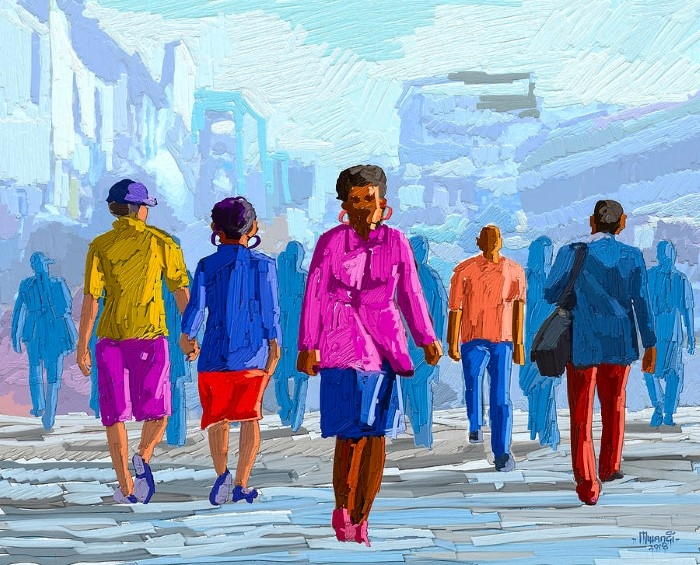 Кенийский художник