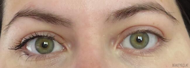 avant apres mascara densite charlotte makeup bio