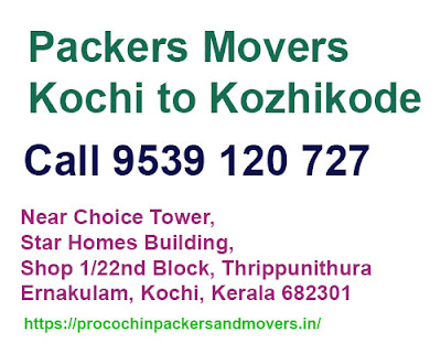 kochi to kozhikode movers and packers