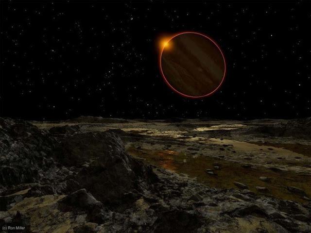 Sol visto de Júpiter