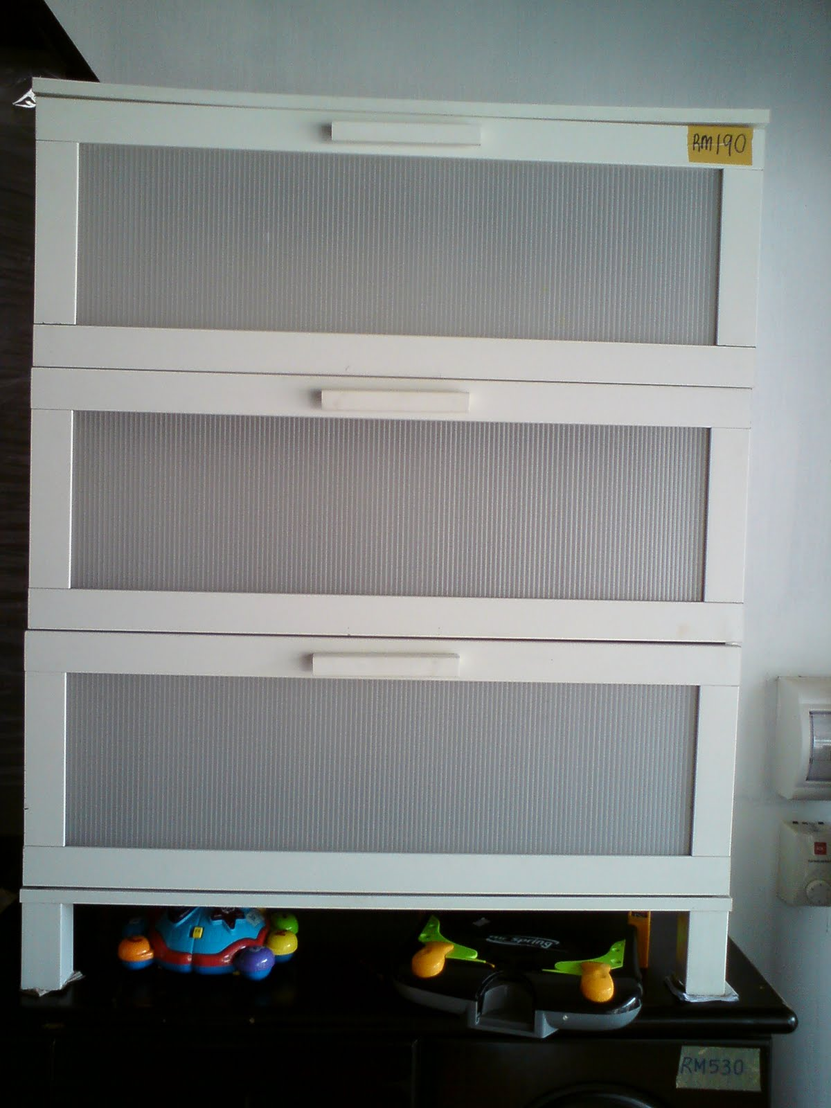 Secondbro Rak Baju Ikea