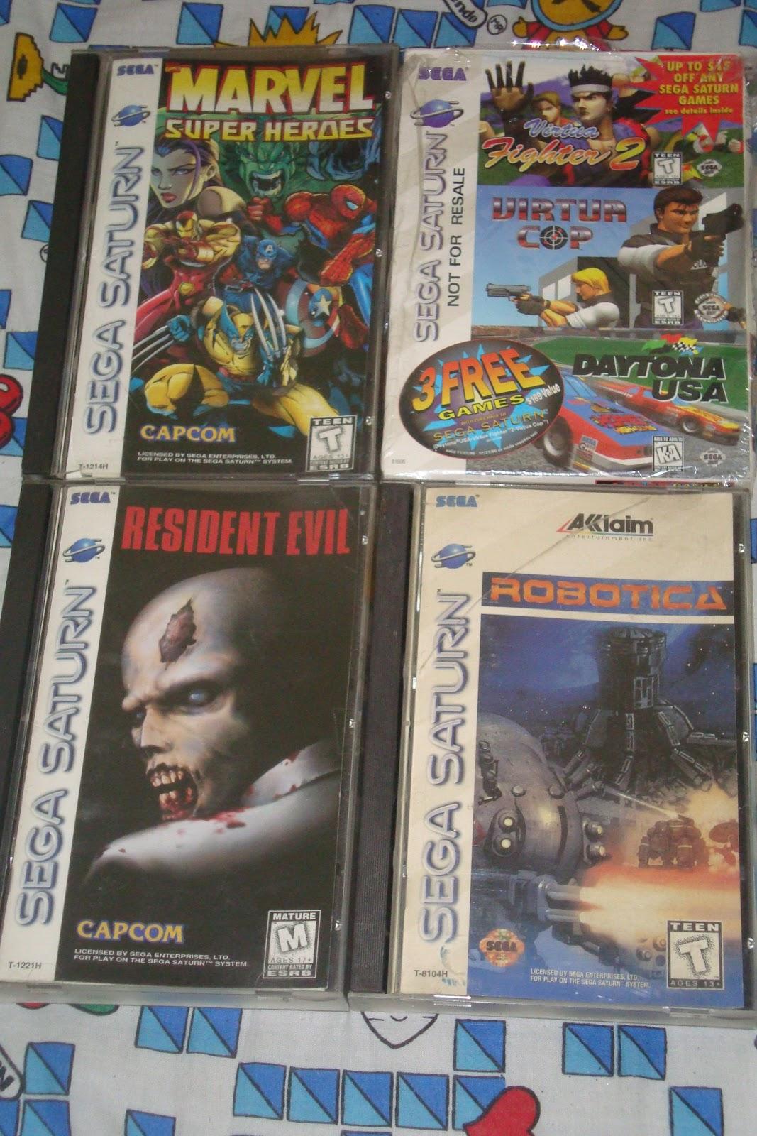 Darkshop Juegos Sega Saturno En Venta Originales