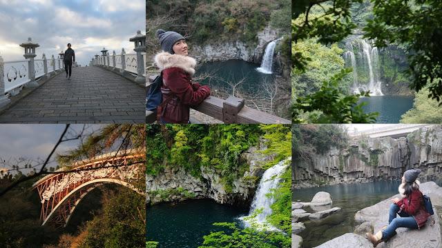 Cheonjeyeon Waterfalls, jeju island itinerary